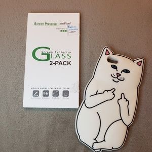 Iphone 6 cat case and screen protector
